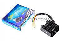 Реле зарядки Zongshen ZS200GS (4 провода) KOMATCU