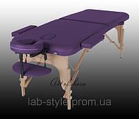 Массажный стол MIA Двухсекционный деревянный Доставка бесплатно!!!