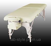 Массажный стол ART Двухсекционный полиуретановый деревянный Доставка бесплатно!!!