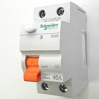 УЗО 2полюса 40А 30мА Schneider Electric серия Домовой
