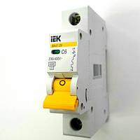 IEK автоматический выключатель 1 полюс 6А