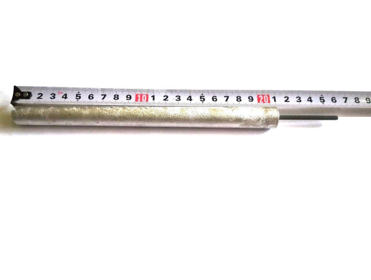 Анод магниевый Ø18мм / L=210мм / резьба M4x50мм Италия