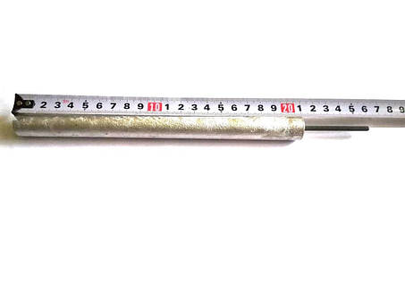 Анод магниевый Ø18мм / L=210мм / резьба M4x50мм Италия, фото 2