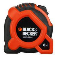 Рулетка измерительная 8м х 28мм  BLACK + DECKER BDHT0-30099