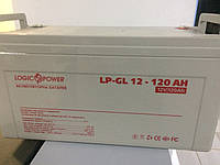 Гелевый аккумулятор LP-GL 12-120 AH, фото 1