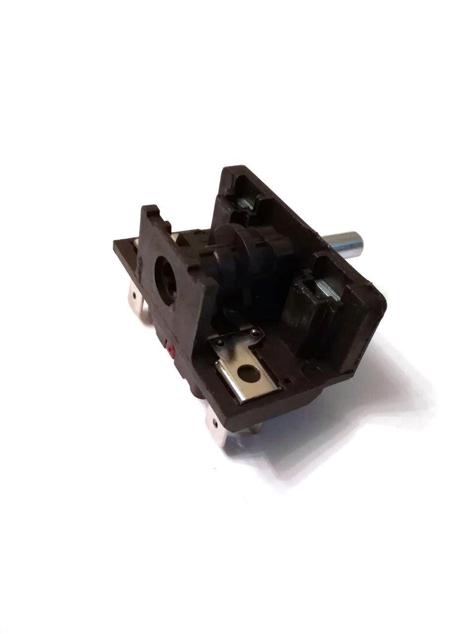 Переключатель 4-x позиционный AC201A / 250V / 16A / T150 для электроплит и духовок / Argeson / Турция