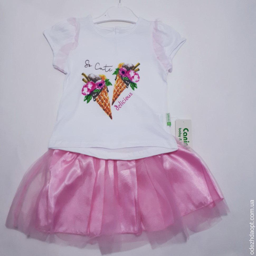 Детский костюм Canini 'Мороженное'Майка и Юбка 125522