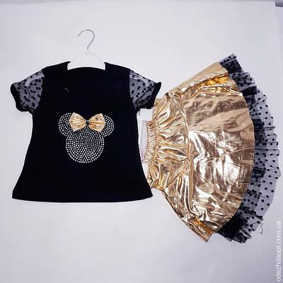 Детский костюм 'Минни'Футболка и Юбка 124752