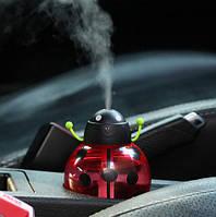 Увлажнитель воздуха в виде жучка. Красный