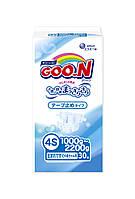 Підгузники GOO.N для маловагих новонароджених 1,0 - 2,2 кг (р. SSSS, на липучках, унісекс, 30 шт)