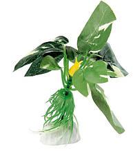 Растение для аквариума Ferplast (Ферпласт) Anubias Анубиас пластик BLU 9089, 10 см