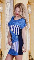 Платье турецкое батал  р2844, фото 1