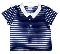 Полосатая футболка для мальчика р-ры 68,74,80,86