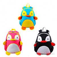 Рюкзак Пингвин / Рюкзак для дошкольника / Рюкзак детский дошкольный / Рюкзак для школьника / Рюкзак школьный