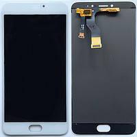 Дисплей для Meizu M5 Note (M621) + touchscreen, белый