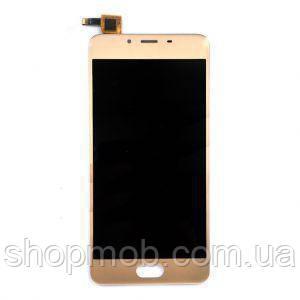 Дисплей для Meizu U20 (U685H) + touchscreen, золотистый, фото 2
