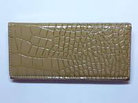 Кошелек женский, кожзам, оливковый 30_1_5a1