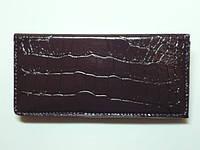 Кошелек женский, кожзам, коричневый 30_1_5a3