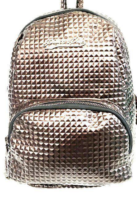 Дешеві рюкзаки опт (бронза)25*30