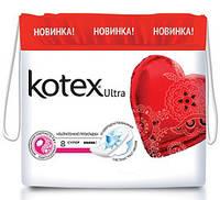 "Прокладки ""Kotex"" Ultra Dry Super 5кап. / 8 шт. код 645"