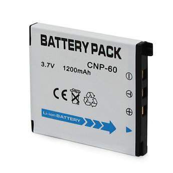 Аккумулятор NP-60 (CNP-60) для фотоаппаратов CASIO - аналог 1200 ма
