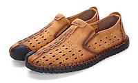 Мокасины,туфли молодежные с натуральной кожи.43 размер.