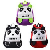 Рюкзак Панда / Рюкзак для дошкільника / Рюкзак дитячий дошкільний / Рюкзак для школяра / Рюкзак шкільний, фото 1