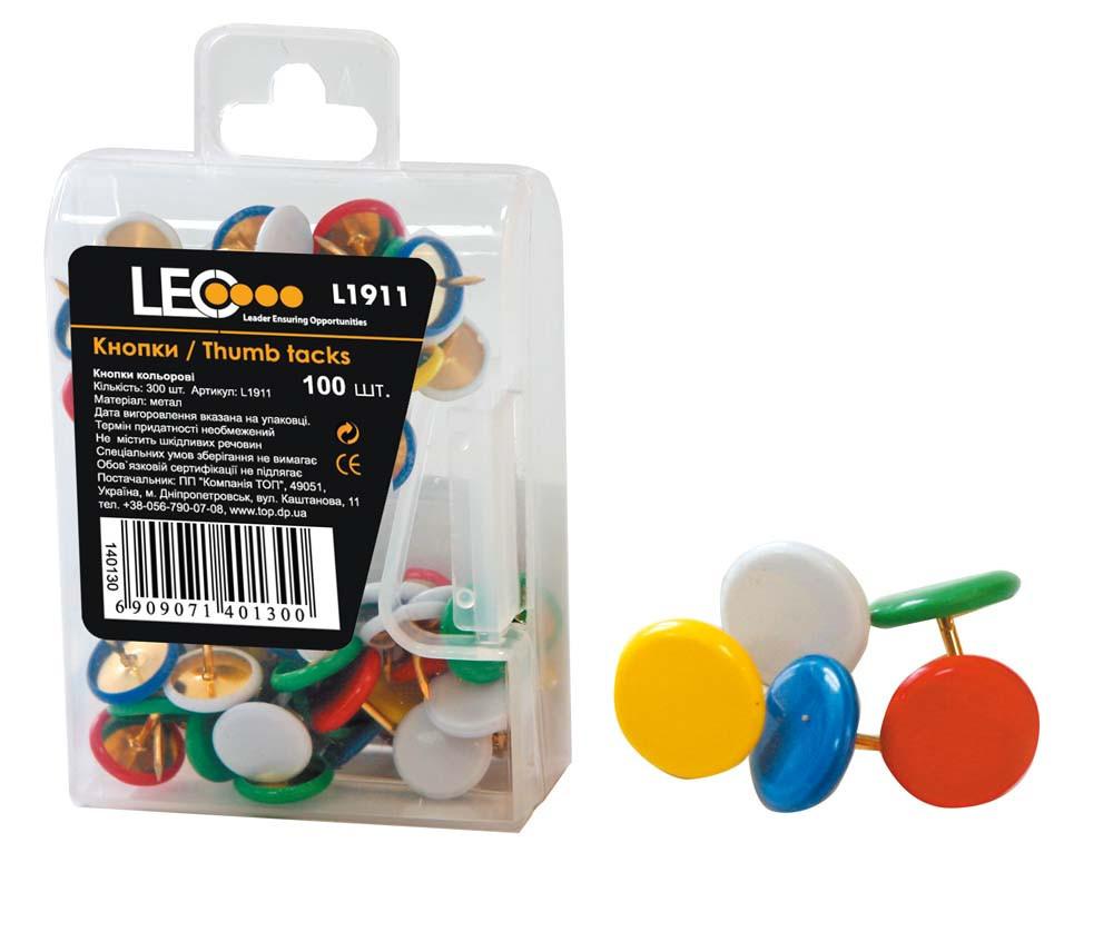 """Кнопки кольорові """"Leo 1911"""""""