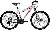 """Велосипед Crosser Sweet -1*16 26"""" белый горный алюминиевый"""