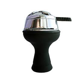 Комплект чаша силиконовая черная+калауд