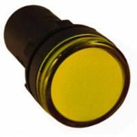 Светодиодный индикатор Лампа AD-22DS(LED)матрица d22мм желтый 230В TDM