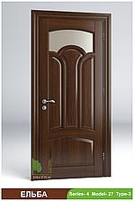 Міжкімнатні двері з масиву деревини Ельба