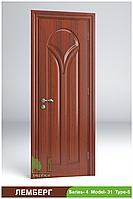Міжкімнатні двері з масиву деревини Лемберг