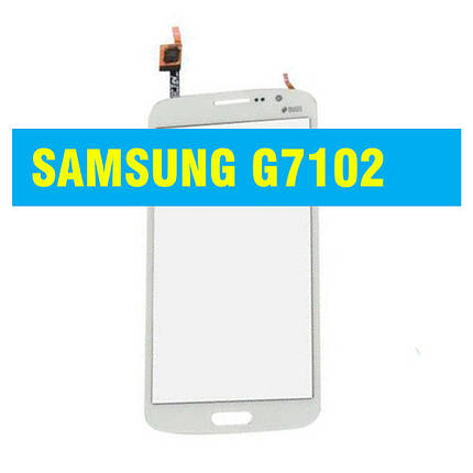 Cенсорный экран Samsung G 7102 (7105, 7106) Galaxy Grand 2 Duos WHITE, фото 2