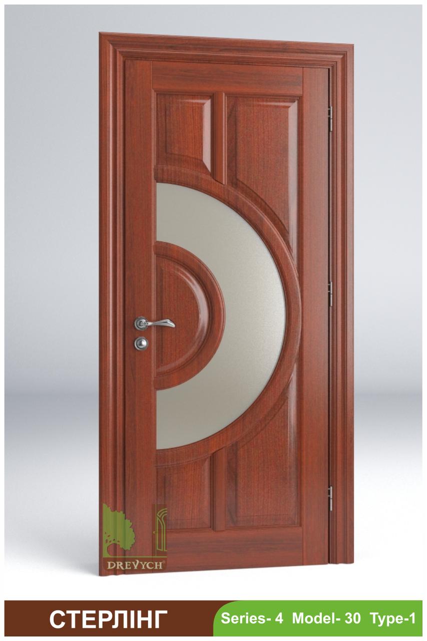 Міжкімнатні двері з масиву деревини Стерлінг
