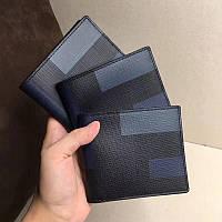 Мужской кожаный бумажник Burberry