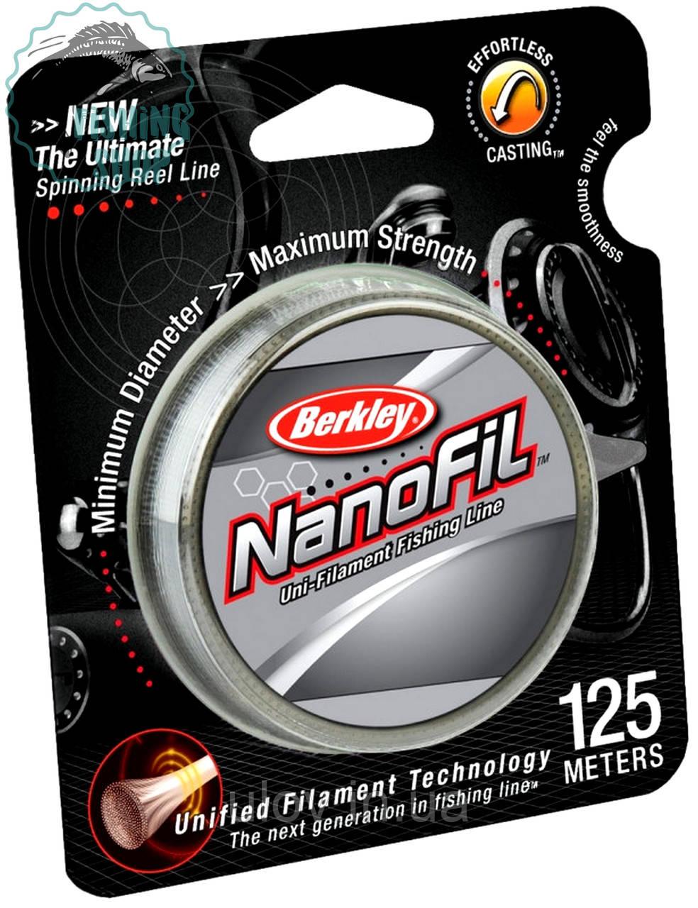 Шнур Berkley Nanofil 125м 0.02-0.17
