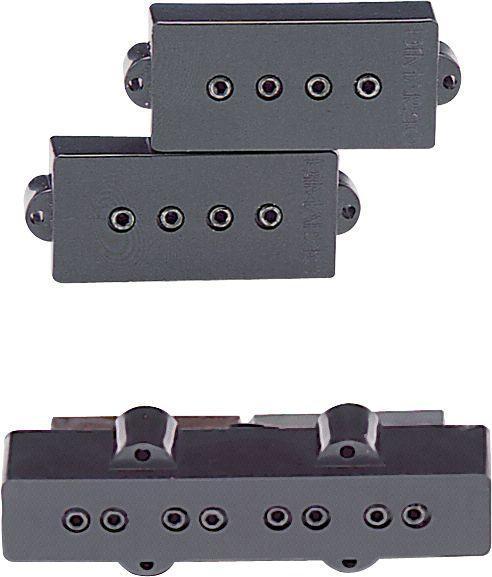 Звукосниматель для гитары DIMARZIO DP126 BK P+J SET (BLACK)