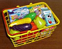 """Корзинка """"Супермаркет"""", 25 предметов (Корзинка """"Супермаркет"""" М)"""