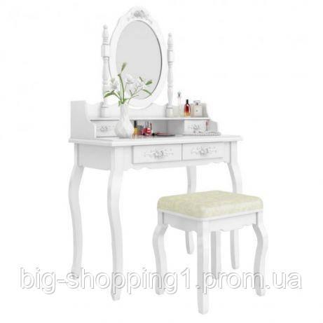 Туалетний косметичний столик зі стільцем в наявності