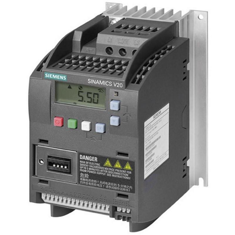 Преобразователь частоты Siemens SINAMICS V20, 380-480 В, 3 АС, 6SL3210-5BE13-7UV0