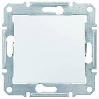 Выключатель SDN0100121 одинарный белый Sedna Schneider