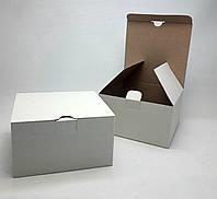 УПАКОВКА, коробка под чашку +блюдце, (белая). Ширина -152мм. Высота 83мм.