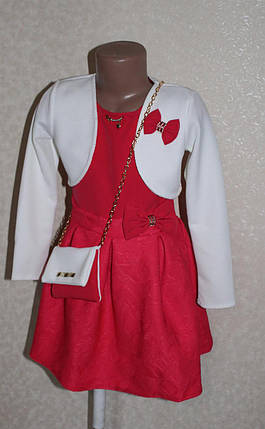 Нарядное платье с болеро, фото 2