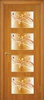 Дверное полотно МДФ Альта 3 стекло с фотопечатью