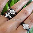 Серебряное кольцо с черной керамикой - Кольцо с керамикой серебро, фото 6