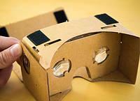 Картонные очки виртуальной реальности Google Cardboard 5 дюймов
