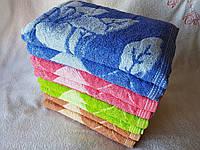 "Лицевое полотенце ""Цветы-ромб"", фото 1"