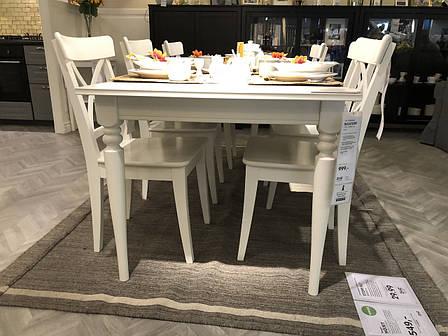 Набор мебели прямоугольный стол + 4 стулья, ИКЕА, IKEA, фото 2