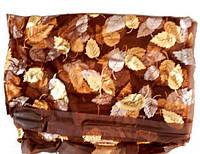 Универсальная Сетка от комаров и мух на дверь Антимоскитная шторка на магнитах Золотые листья 90х210